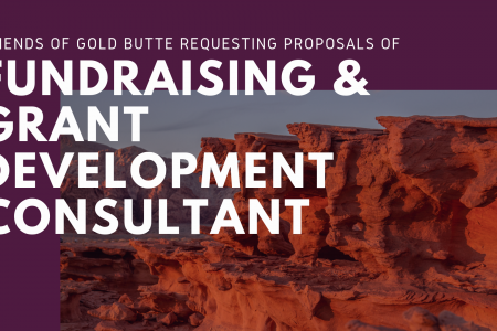 Request for Proposal of Fundraising & Grant Development Consultant