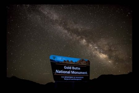 Spring star gazing at Gold Butte National Monument