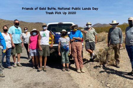 Friends of Gold Butte receives $250 Clean Trail Grant from Extreme Terrain